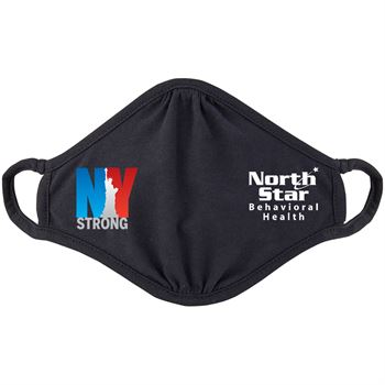 New York Strong 2-Ply 100% Cotton Mask - Personalization Available