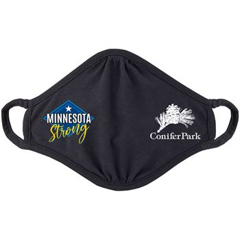 Minnesota Strong 2-Ply 100% Cotton Mask - Personalization Available