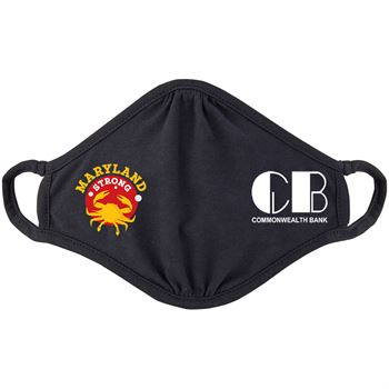 Maryland Strong 2-Ply 100% Cotton Mask - Personalization Available