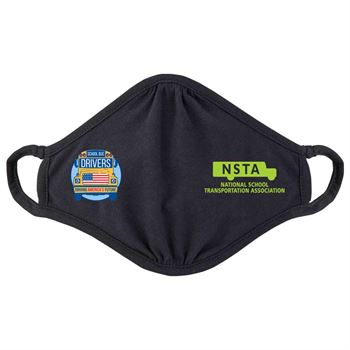 School Bus Drivers: Driving America's Future 2-Ply 100% Cotton Face Mask - Personalization Available