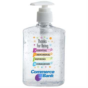 Thanks For Being EPIC 8-Oz. Sanitizer Gel Pump - Personalization Available