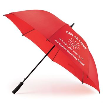 Red Deluxe Auto Open Windproof 60