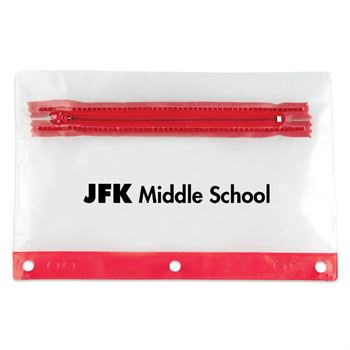 Red Pencil Pouch - Personalization Available