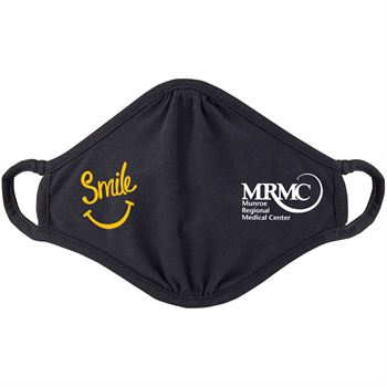 Smile 2-Ply 100% Cotton Mask - Personalization Available