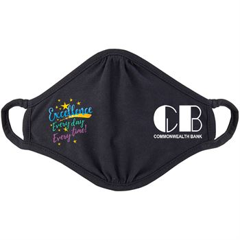 Excellence Every Day, Every Time 2-Ply 100% Cotton Mask - Personalization Available