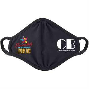 Exceeding Expectations Every Day 2-Ply 100% Cotton Face Mask - Personalization Available - Increments of 50