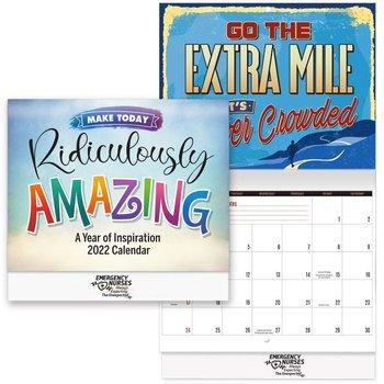 2022 Make Today Ridiculously Amazing / Emergency Nurses Wall Calendar