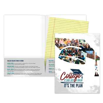 College: It's Not Just A Dream, It's The Plan™ Full-Color Folder