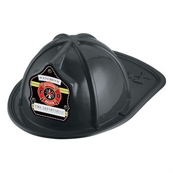 Prevent Fires F D Black Firefighter Hat With Personalization