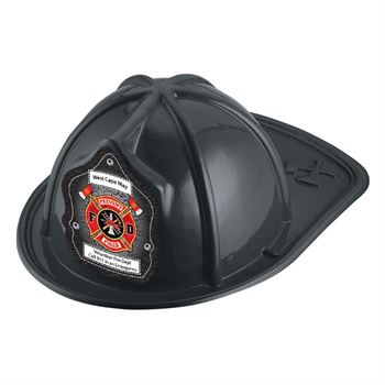 Prevent Fires F D Hat (Black) With Personalization