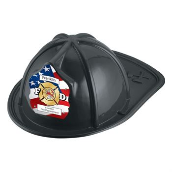 F D Firefighter Hats (Black) With Personalization