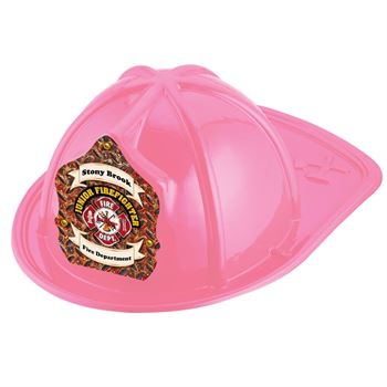 Junior Firefighter Fire Dept. Pink Firefighter Hat