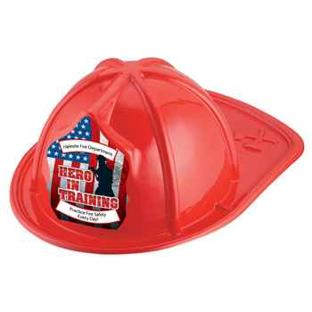 Hero In Training Firefighter Hat (Red) With Personalization