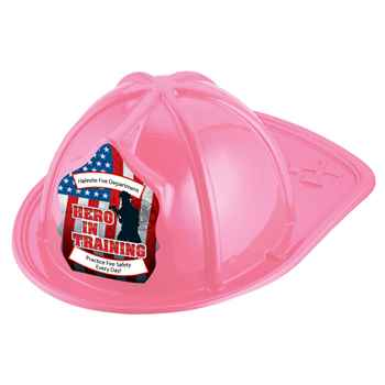 Hero In Training Firefighter Hat (Pink) With Personalization