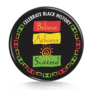 Black History Month Buttons Assortment Pack