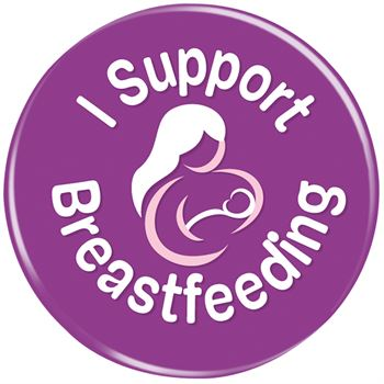 I Support Breastfeeding Button