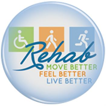 Rehab: Move Better, Feel Better, Live Better Buttons