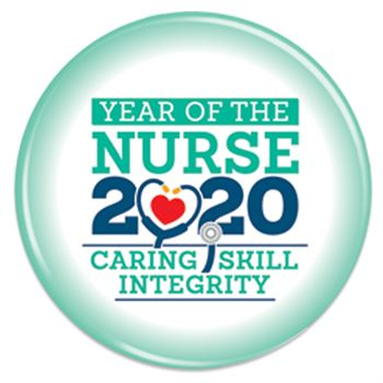 Year Of The Nurse Buttons - Pack of 50