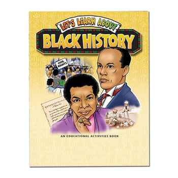 Let's Learn About Black History, Believe, Achieve, Succeed Activity Book