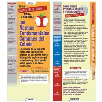 Parents' Guide To Understanding Common Core State Standards Slideguide - Spanish Edition
