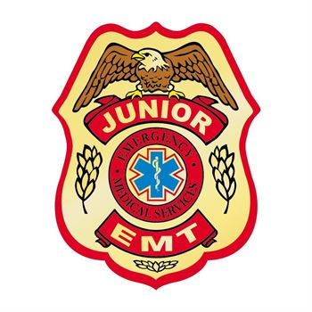 Junior EMT Temporary Tattoo