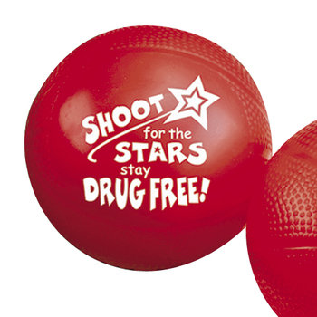 Shoot For The Stars, Stay Drug Free! Mini Basketball