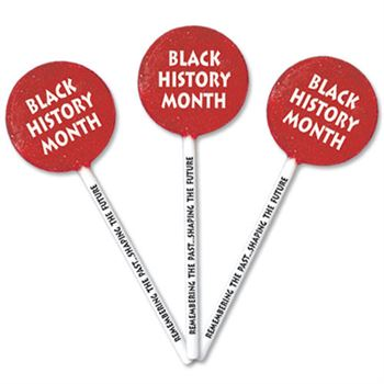 Black History Month: Remembering The Past...Shaping The Future Lollipops