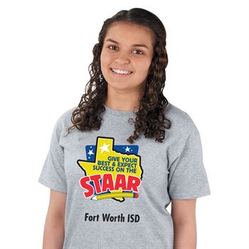 Give Your Best And Expect Success On The STAAR! T-Shirt With Personalization