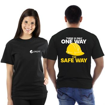 There's Only One Way The Safe Way Bragging Rights 2-Sided Short Sleeve T-Shirt - Personalized