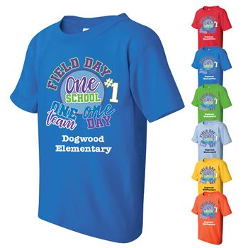 Field Day 2017 Personalized Adult Full Color T-Shirt