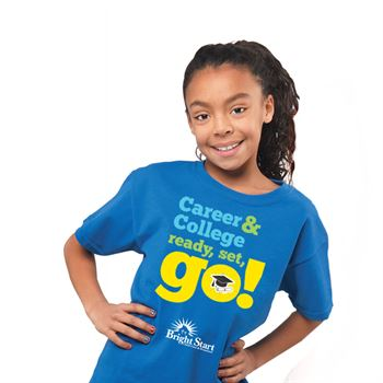 Career & College: Ready, Set, Go! Youth T-shirt (Personalized)