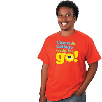 Career & College: Ready, Set, Go! Adult T-Shirt (Personalized)