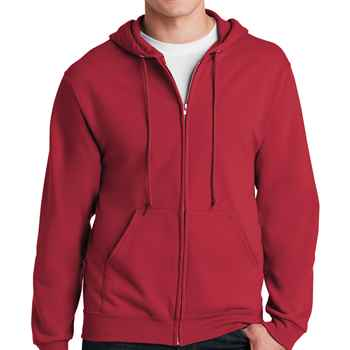 Adult Hooded Full-Zip Sweatshirts By Jerzees ®