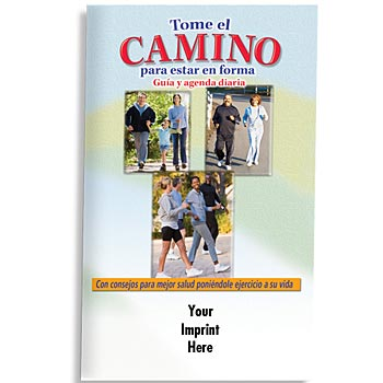 Walk Your Way To Fitness Guide & Daily Log (Spanish)- Personalization Available