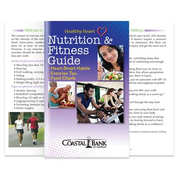 Healthy Heart Nutrition & Fitness Guide - Personalization Available