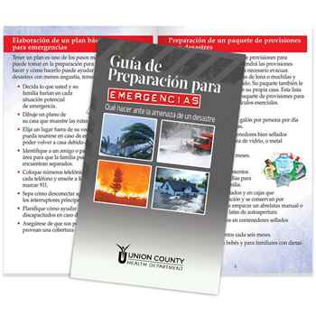 Spanish Language Emergency Preparedness Guide: What To Do When Disaster Threatens - Personalization Available