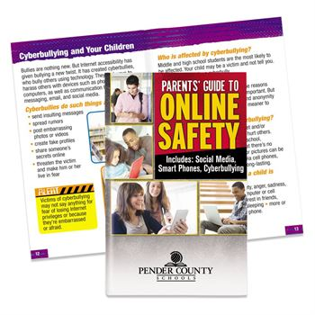 Parents' Guide To Online Safety English/Spanish Flipbook - Personalization Available