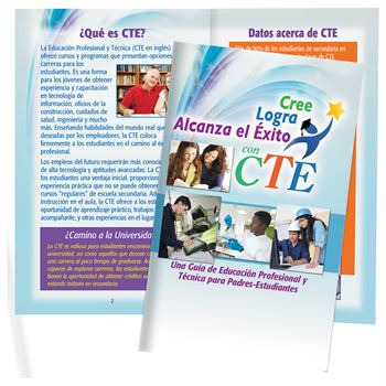 Believe Achieve Succeed With CTE: A Parent-Student Guide To Career And Technical Education