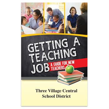 Getting A Teaching Job: A Guide For New Teachers - Personalization Available