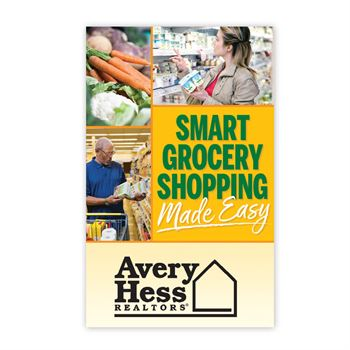 Smart Grocery Shopping Made Easy Bilingual English/Spanish Guidebook - Personalization Available