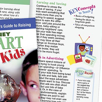 A Parent's Guide To Raising Money Smart kids - Personalization Available