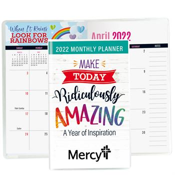 Make Today Ridiculously Amazing 2021 Deluxe Monthly Planner - Personalization Available