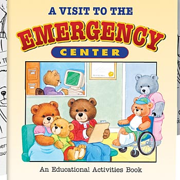 A Visit To The Emergency Center Educational Activities Book (Teddy Bear Edition) English