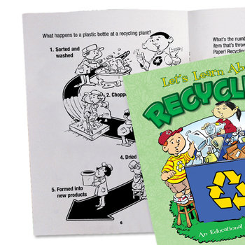 Let's Learn About Recycling Educational Activities Book