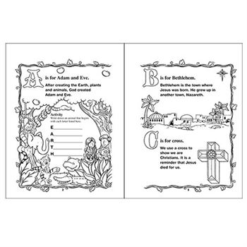ABCs Of The Bible Educational Activities Book
