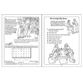 101 Ways To Be Like Jesus Educational Activities Book