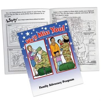 We'll Miss You! Educational Activities Book - Personalization Available