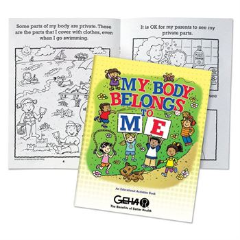 My Body Belongs To Me English/Spanish Flip-Style Book - Personalization Available