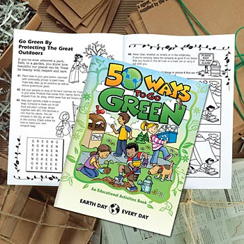 50 Ways To Go Green Educational Activities Book