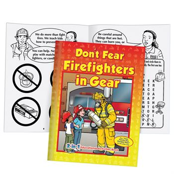 Your Family Fire Escape Plan/Don't Fear Firefighters In Gear 2-in-1 Educational Activities Flipbook